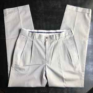 Brooks Brothers Chinos Thompson Khaki Pants 34x33